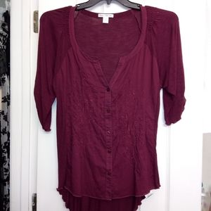 Dalia Collection like new, color Maroon,size Large